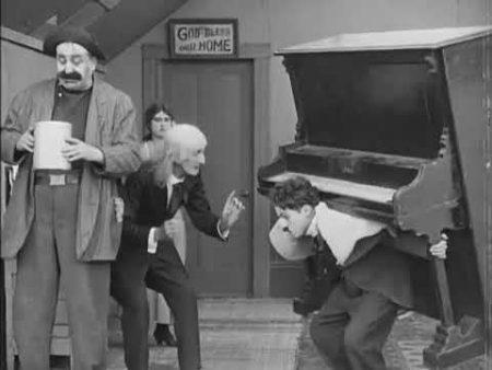 Charlie Chaplin – De Piano