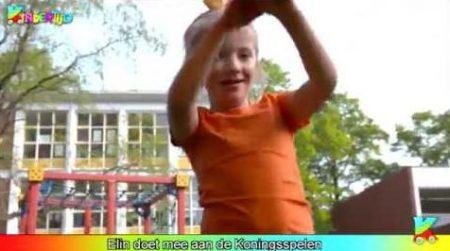 Kindertijd – Elin Doet Mee Aan De Koningsspelen