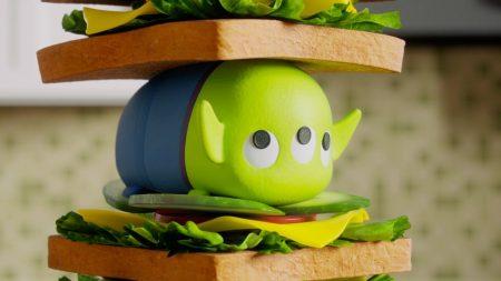 Tsum Tsum – Sandwich Toren