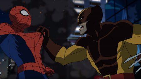 Ultimate Spider-Man – Spider-Man vs Wolverine