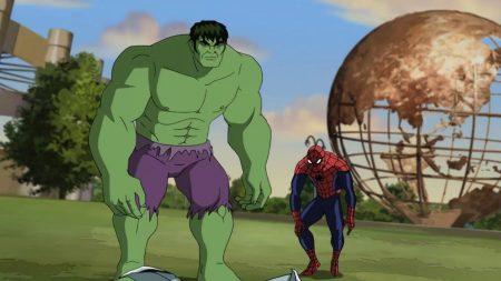 Ultimate Spider-Man – Hulk Is Ziek