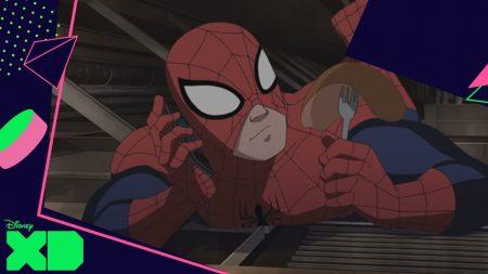 Ultimate Spider-Man | Agent Coulson Mag Niet Uit Eten Met Tante May