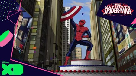 Ultimate Spider-Man – Oefengevecht Met Captain America