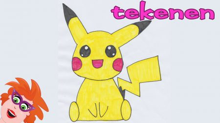 Juf Jannie – Pokémon Pikachu Tekenen