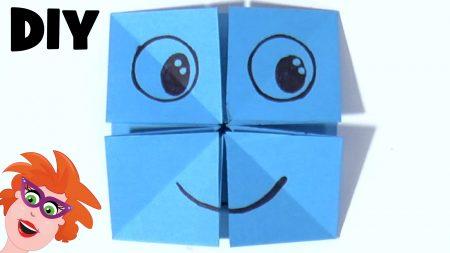 Juf Jannie – Origami Gezichten Vouwen Van Papier