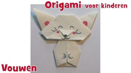 Juf Jannie – Origami Poesje Vouwen