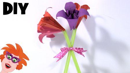 Juf Jannie – Bloemen Vouwen