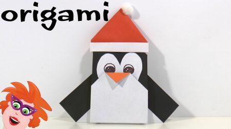Juf Jannie – Origami Pinguïn Vouwen