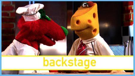 De Boterhamshow – Ferdy Flessener Van Vittingen – Backstage