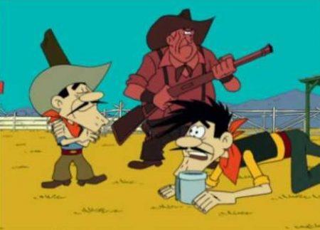 Lucky Luke – De Daltons Als Cowboy