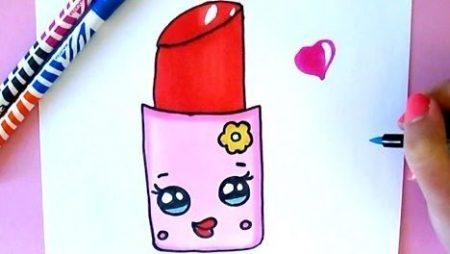 Hoe Teken Je – Lipstick