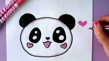Hoe Teken Je – Een Panda Emoji