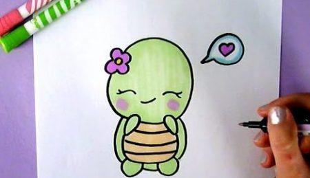 Hoe Teken Je – Een Schildpad