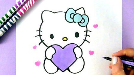 Hoe Teken Je – Hello Kitty