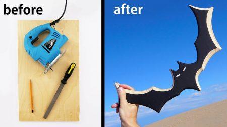 Hoe Maak Je – Een Batman Boomerang