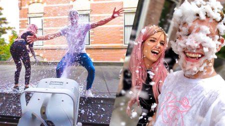 Enzo Knol – Sneeuwmachine Draait Door! Leuk Of Meuk Met Dionne! – Vlog #1836