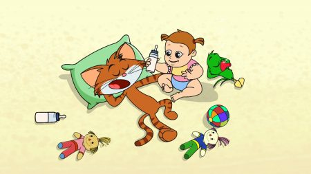 Cat & Keet – Baby Sitting