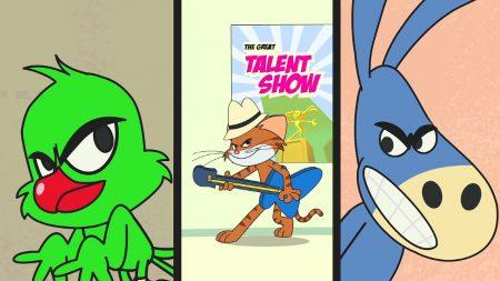Cat & Keet – Vreemde Grappige Bods Met Talent