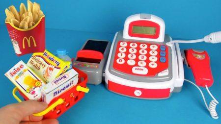 Speelgoed Kassa Speelset – Uitpakken en Spelen