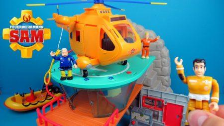 Brandweerman Sam Mountain Rescue Centre van Simba – Uitpakken en Spelen