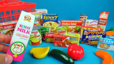 Speelgoed Supermarkt – Uitpakken en Spelen