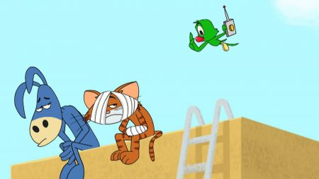 Cat & Keet  – Gekke Vliegers