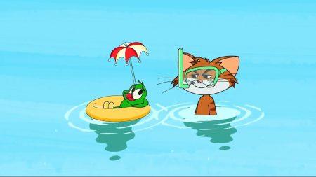 Cat & Keet – Zwemles