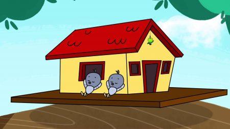 Cat & Keet – Vogelhuisje