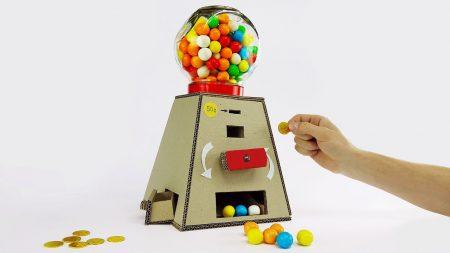 Hoe Maak Je – Een Kauwgomballen Automaat