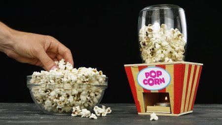 Hoe Maak Je – Een Popcorn Machine Van Hout