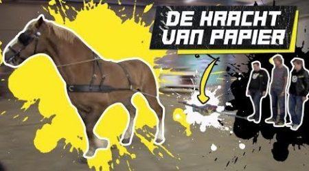 Checkpoint – Met Paardenkracht Papier Uit Elkaar Trekken!
