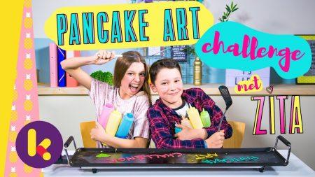 Zita – Pancake Art Challenge