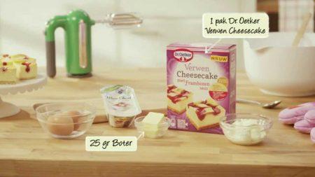 Koken en Bakken – Cheesecake met Frambozensaus Maken