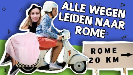 Willem Wever – Leiden Alle Wegen Naar Rome?