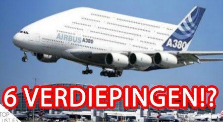 Vliegtuigen – Top 10 Grootste Vliegtuigen Ter Wereld!