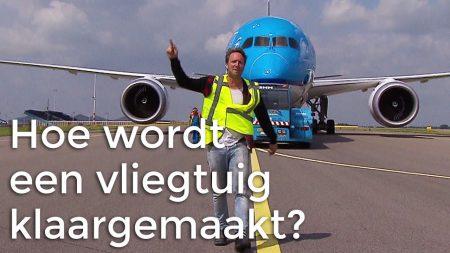 Vliegtuigen – Hoe Wordt Een Vliegtuig Klaargemaakt Voor Vertrek?