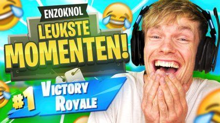 Enzo Knol – De Leukste Momenten Van Enzo Knol In Fortnite!