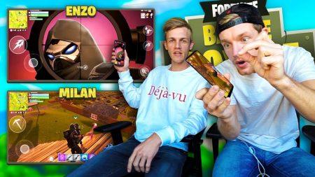 Enzo Knol – Enzo & Milan Spelen Fortnite Op De Telefoon!!