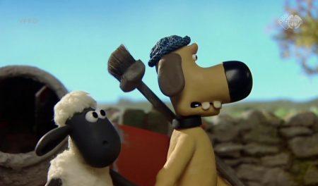 Shaun The Sheep – Zie Ik Daar Een Pootafdruk