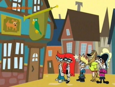 Johnny Test – Hijs De Piratenvlag – Johnny's Turbo Toy Force