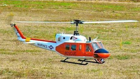 RC Vliegtuigen – Bell-212 Rescue Huey