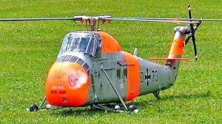 RC Vliegtuigen – Sikorsky S-58 (H-34)