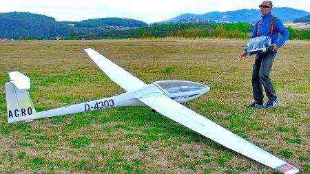 RC Vliegtuigen – Huge XXXL 6,50m Glider