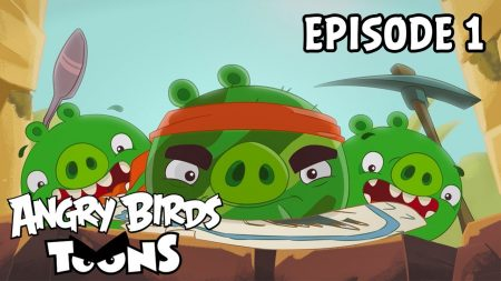 Angry Birds Toons – Treasure Hunt