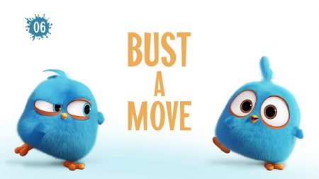 Angry Birds Blues – Bust A Move