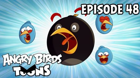 Angry Birds Toons – Shrub It In