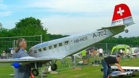 RC Vliegtuigen – Junkers JU-52 XXXL