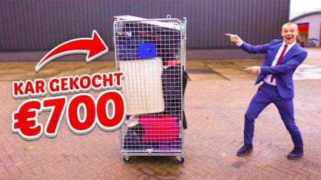 Enzo Knol – Kar Verloren Koffers Gekocht Voor €700! – Vlog #1946