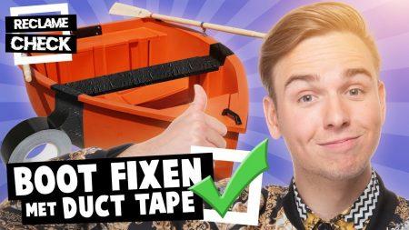 Dylan Haegens – Boot Repareren Met Duct Tape!? – Reclamecheck #1