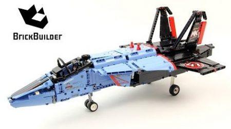 Lego Technic 42066 Air Race Jet – Lego Speed Build